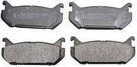Тормозные колодки дисковые задние MAZDA 626 92-97, Xedos-6 92-96Jc Premium-C23007PR- Польша