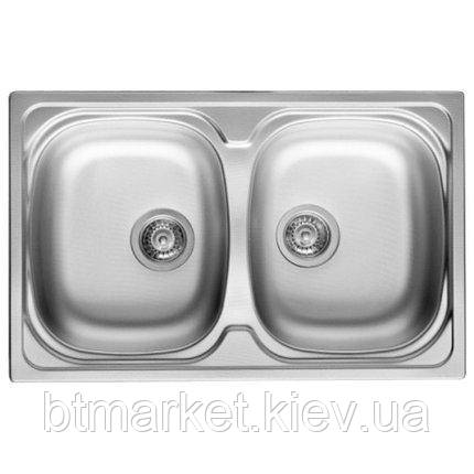 Кухонная мойка PYRAMIS SPARTA (86*50) 2B (92 mm), фото 2
