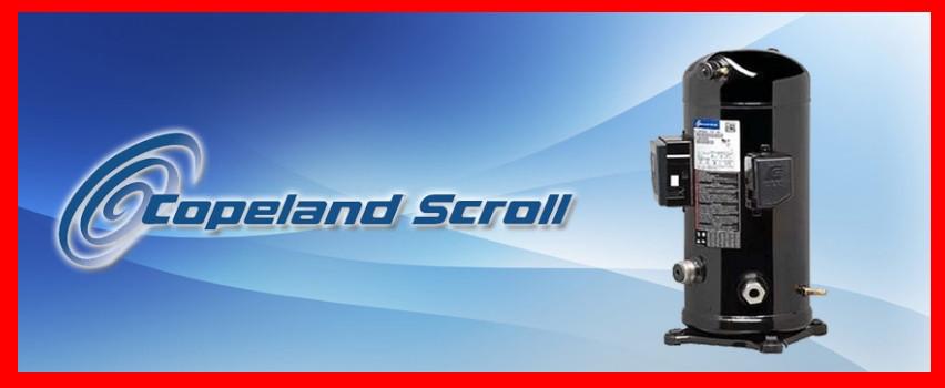 Компрессор спиральный Copeland ZR 160 KCE- TFD- 455/655