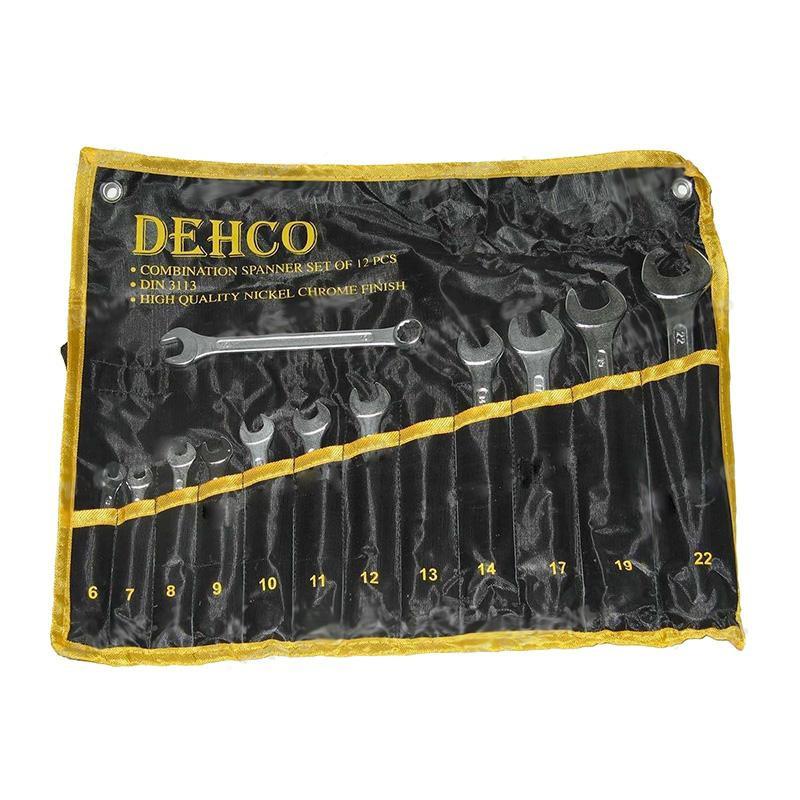 Набор ключей рожково-накидных 12 предметов сумка Dehco DT-12