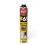 Профессиональна монтажная пена с увеличенным выходом готовой пены. BeLife F65