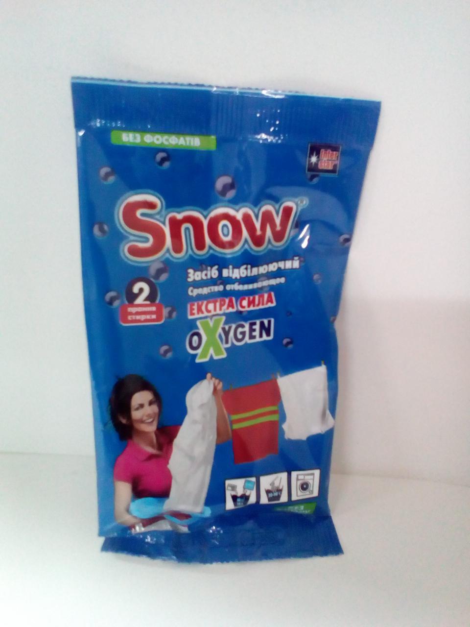 Засіб відбілюючий Snow 80 гр