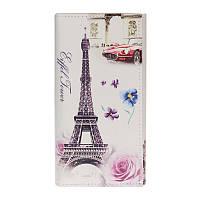 "Кошелёк женский Botusi Capitals - Paris, ""Rose"""