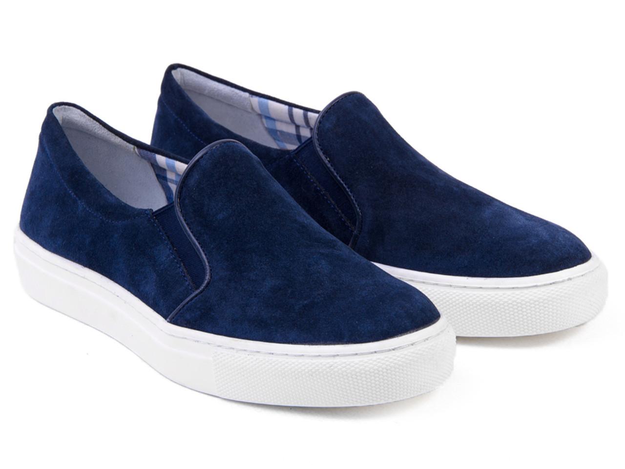 Слипоны Etor 4466-7165 -1 синие