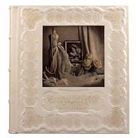 Кожаный Свадебный Фотоальбом с тиснением
