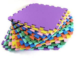 Мягкие модульные полы для детей, коврики-пазлы