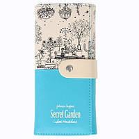 Кошелёк женский Botusi Secret Garden, голубой