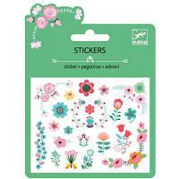Набор для творчества Djeco наклейки Маленькие цветочки (DJ09763)