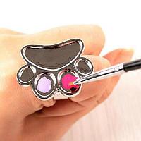 Палитра-кольцо на палец для смешивания (2)