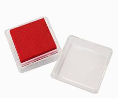 Штемпельна подушка Heyda Червона 2.5x2.5см з пігментним чорнилом 4005329090264