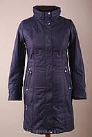 Жіноча демісезонна довга куртка плащ великих розмірів Mishele 48 розмір, весна осінь, фото 1