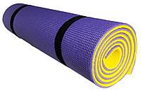 Коврик для фитнеса «FITNESS PLUS» 1800х600х10мм (Двухслойный)