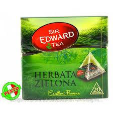 Чай  Sir edward tea green  20 bags