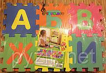 """Дитячий ігровий розвиваючий килимок-пазл """"Алфавіт"""" (36 деталей)"""