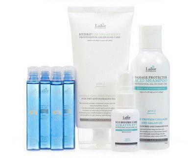 La'dor Набор для восстановления волос Shampoo + LPP + PPT + Filler Set