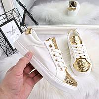 Кеды женские Belly белые 4514, кеды женские осенняя обувь