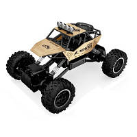 Автомобиль OFF-ROAD CRAWLER на р/у – FORCE (золотой, аккум. 7.2V, метал. корпус, 1:14)