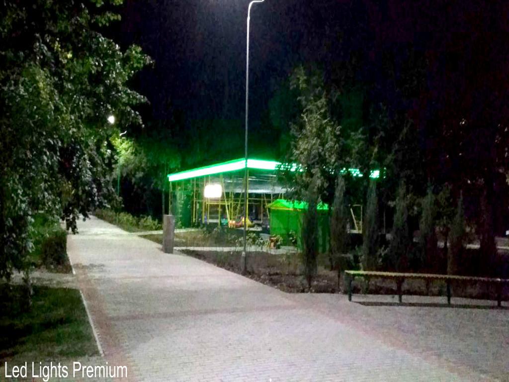 Садово-парковое освещение. Наружная подсветка