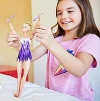 Кукла Barbie Made to Move Барби Йога Подвижная артикуляция Гимнастка, фото 4