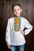 Стильная детская вышиванка для мальчика Код х281-1