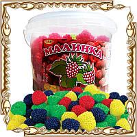 Желейні цукерки Малинки 150 шт. 450 г.
