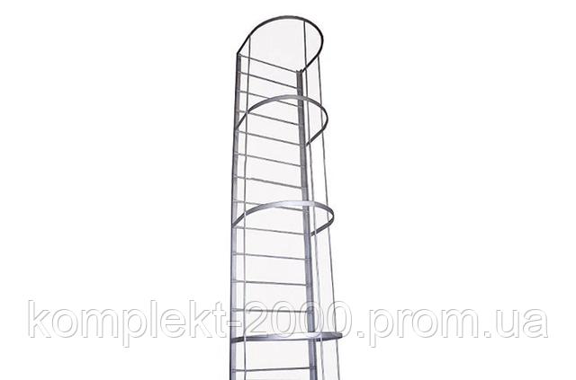 пожарная лестница наружная из металла