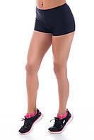 Спортивные шорты SW средняя посадка универсальный размер (42,44,46,48), шорты для спорта и фитнеса (бифлекс)