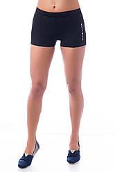 Спортивные шорты SW средняя посадка (42-44, 44-46, 46-48), шорты для спорта и фитнеса (матовый бифлекс)