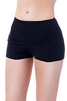Спортивные шорты SW высокий пояс (42-44, 44-46, 46-48), шорты для спорта и фитнеса (матовый бифлекс)