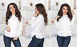 Женская блузка со вставками из сетки, фото 7