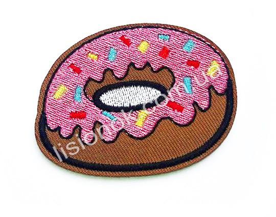 Термо-нашивка на одежду Пончик