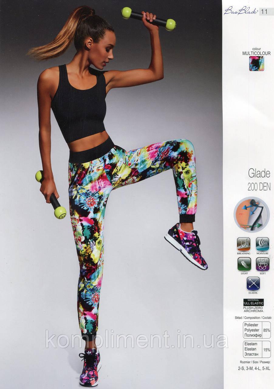 Спортивні штани для фітнесу Bas Bleu Glade 200 den