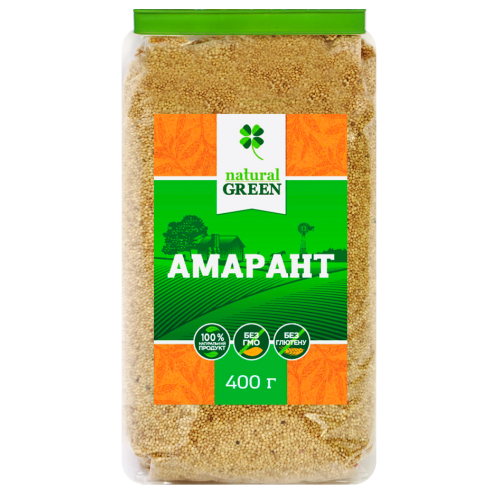 Амарант, 400 г, NATURAL GREEN