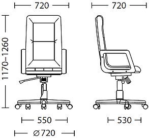 Кресло Senator Extra MPD EX1 Eco-50 (Новый Стиль ТМ), фото 2