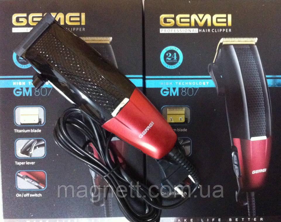 Машинка для стрижки Gemei GM-807
