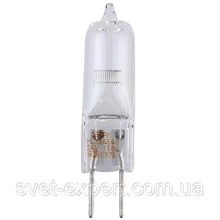 Лампа 64640 HLX 150W 3550°К 50ч 24В G6.35 FCS 40x1 OSRAM, фото 2
