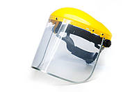 Защитный щиток с козырьком для защиты головы с регулируемым наголовником