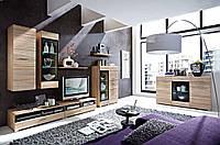 Модульна вітальня Вушер від Гербор в кольорі дуб Сонома