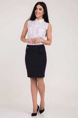 """Офисная модель женской юбки """"Трейси"""", фото 2"""