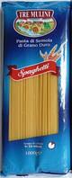 Спагетти твердых сортов Tre Mulini «Spaghetti», 1 кг., фото 1