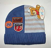 Весенние шапки детские для мальчиков.