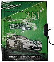 Блокнот 4008 на замке детский Sport Car 11,5*15см