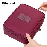 Косметичка Wine red