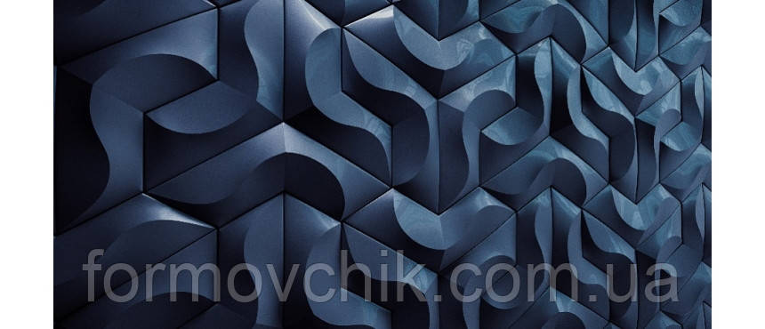 Пластиковая форма для 3д плитки Коралл