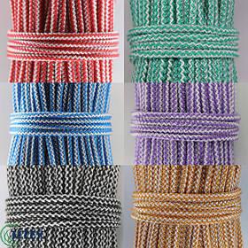 Шнуры полипропиленовые вязаные