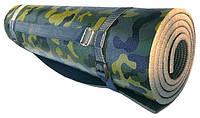 Каремат армейский камуфлированный «СКАУТ» с ремешком 1800x550x10 мм