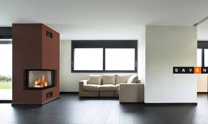 Каминная топка BeF Home Bef Therm 8 CL, фото 2