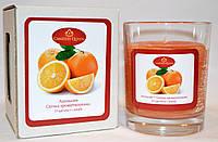 Свеча ароматическая в стакане Апельсин, фото 1