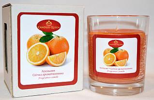 Свеча ароматическая в стакане Апельсин