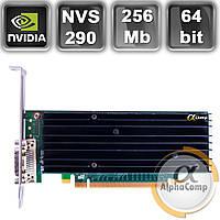 Видеокарта Quadro NVS290 (256Mb/DDR2/64bit/2*VGA) БУ